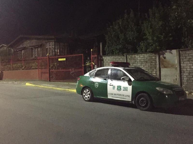 Investigan femicidio en San Pedro de La Paz: Hombre de 73 años se encuentra detenido
