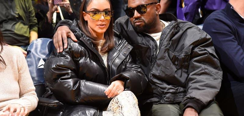 Kim Kardashian y Kanye West decidieron vivir separados