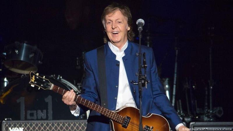 Paul McCartney promete vacunarse y lanza nuevo álbum