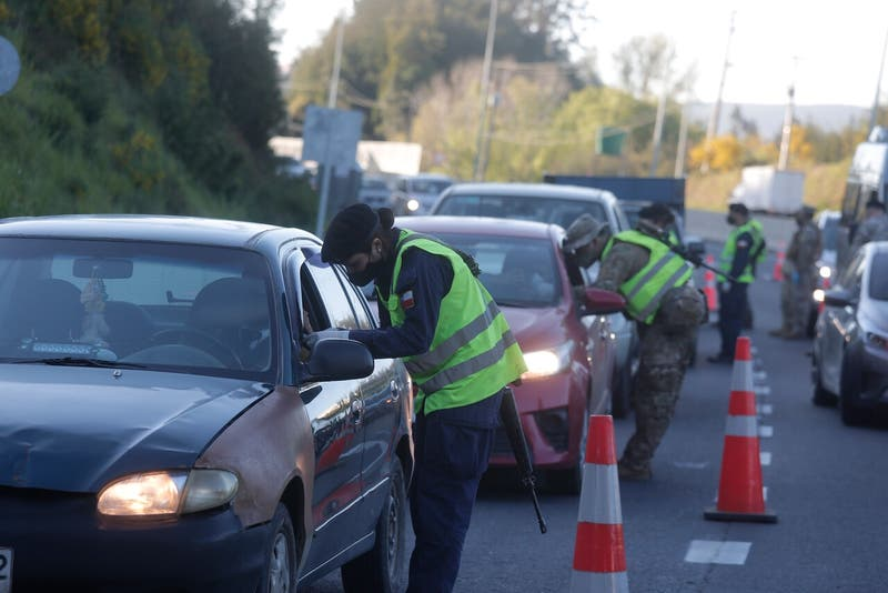 680 vehículos fueron devueltos a la Región Metropolitana tras ser controlados por carabineros