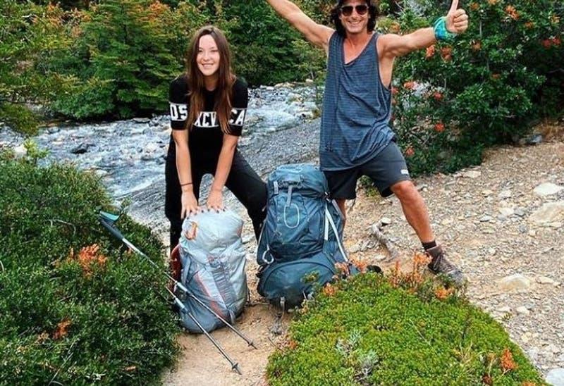 El viaje de Kel Calderón y Claudio Iturra a Torres del Paine