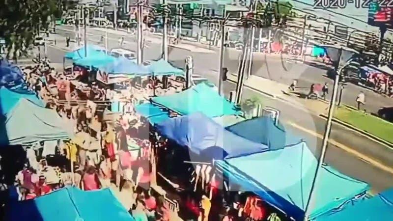 Balacera en Maipú: Nuevos videos del ataque