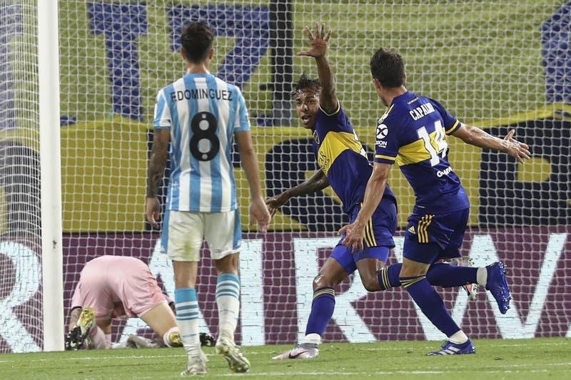 Copa Libertadores: Pese a buena actuación de Arias, Boca vence a Racing y avanza a semifinales