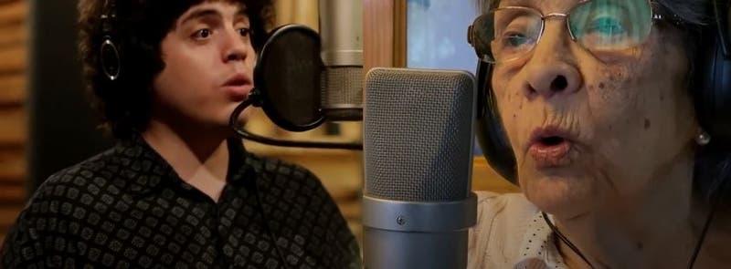 Vicente Cifuentes canta con su abuela de 92 años en nueva canción