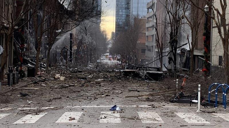 [VIDEO] Bombazo en Nashville: Vehículo advirtió que habría una explosión minutos antes del hecho