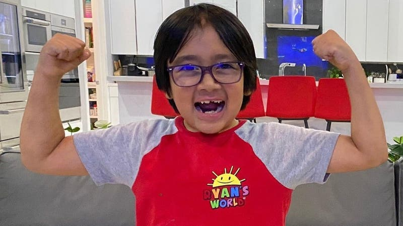 Ryan Kaji, niño de 9 años, es el YouTuber mejor pagado del 2020: Ganó 29 millones de dólares