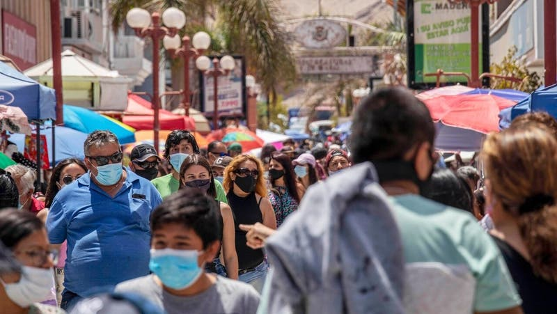 Paris descartan que Chile esté en la segunda ola de la pandemia