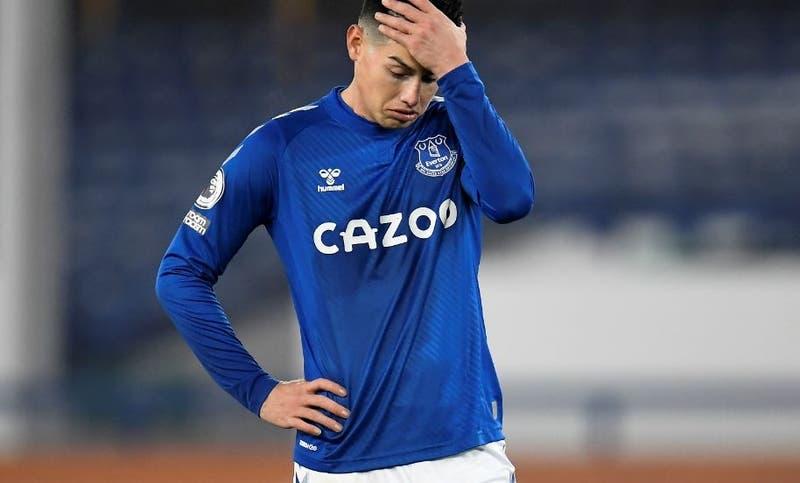 Suspenden Everton (de James) vs City por casos de COVID-19