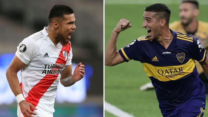 Boca Juniors vs. River Plate: Horario y dónde ver el primer Superclásico argentino del 2021