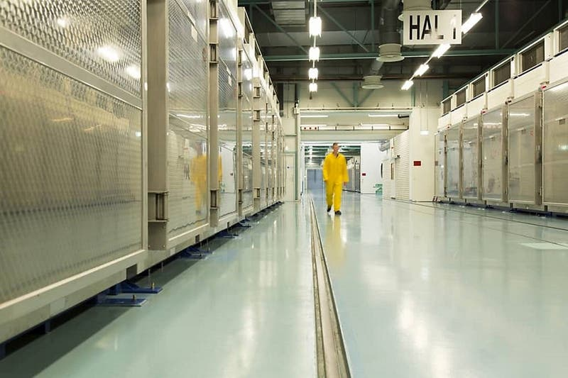 Irán inicia el proceso para enriquecer uranio a 20%
