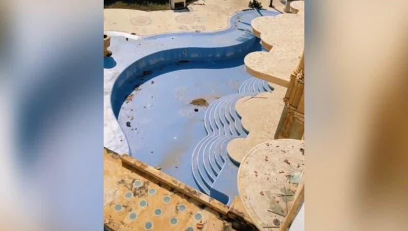 En ruinas y abandonada: Viralizan imágenes de la espectacular mansión de Luis Miguel en Acapulco
