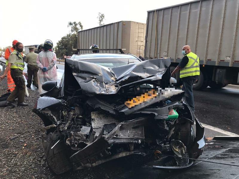 Una persona fallecida tras accidente en ruta 5 Sur en Chillán