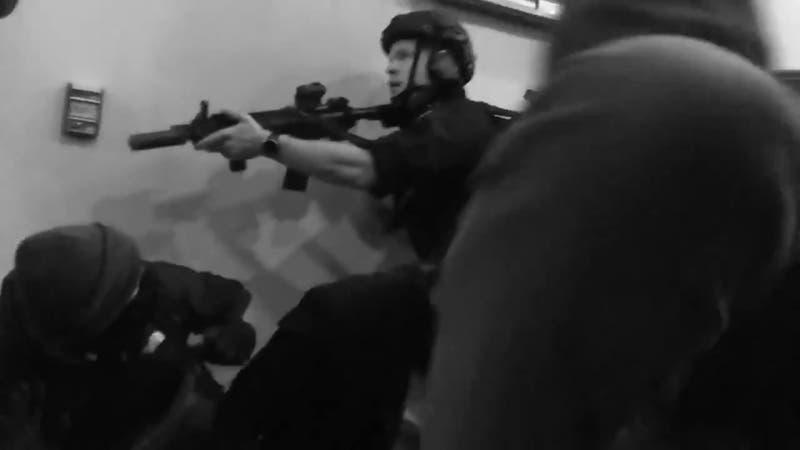 Una persona herida de bala al interior del Capitolio de Estados Unidos
