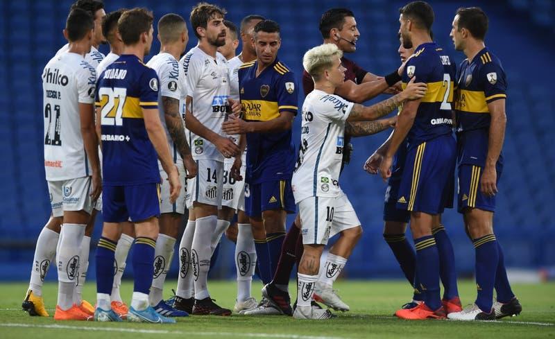 Polémica en Copa Libertadores: arquero del Santos habría jugado con coronavirus ante Boca Juniors