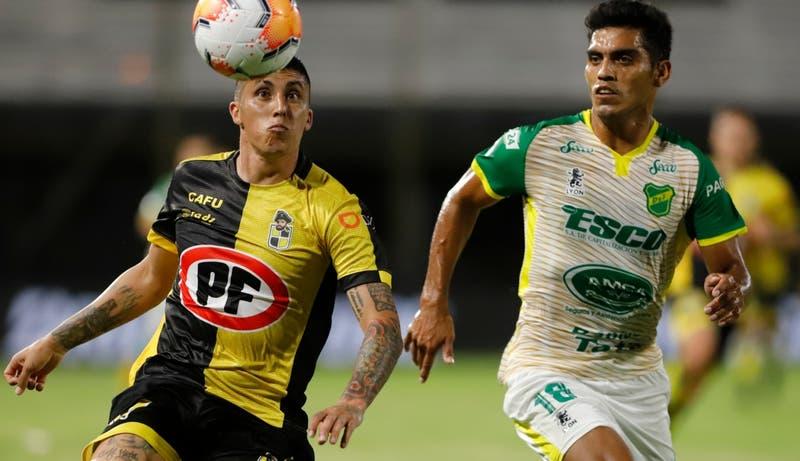 Coquimbo iguala ante Defensa y Justicia y dejan en suspenso el paso a la final de la Sudamericana
