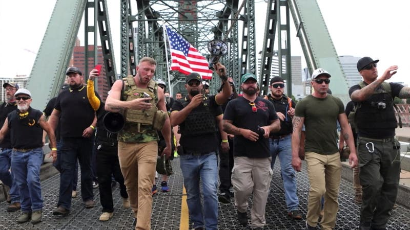 Asalto al Capitolio: Las violentas agrupaciones que inquietan a Estados Unidos