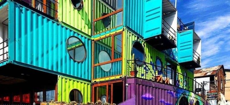 Innovadora propuesta de Winebox: El hotel de Valparaíso que está diseñado de containers reciclados
