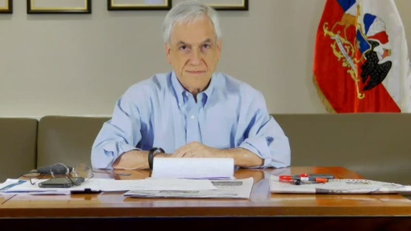 """Piñera por segunda ola: """"Estamos mejor preparados que cuando la pandemia nos golpeó por primera vez"""""""