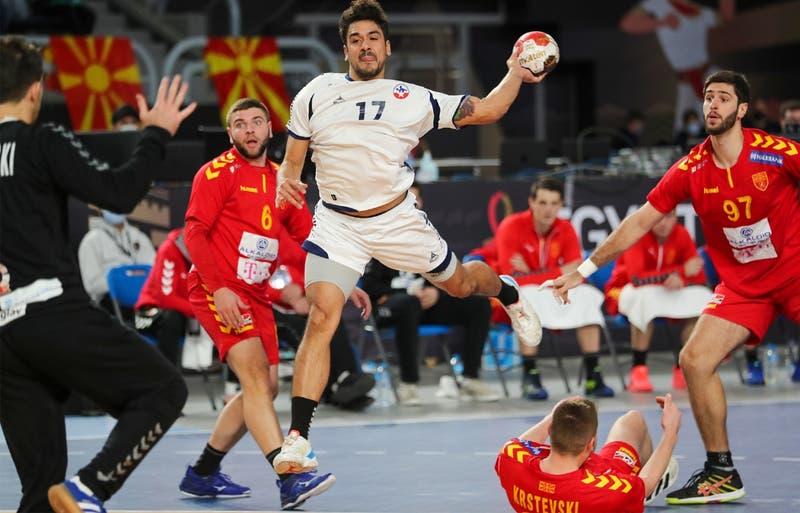 Chile cae ante Macedonia del Norte y se despide del Mundial de Balonmano