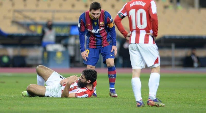 La sanción a Lionel Messi tras su primera expulsión en FC Barcelona