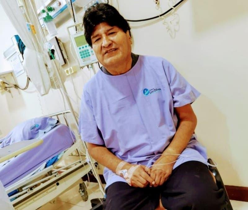 """Evo Morales reaparece tras dar positivo por coronavirus y reconoce estar """"muy bien"""""""