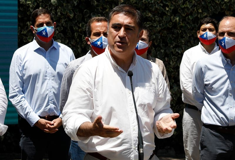 Mario Desbordes busca reeditar su perfil post 18-O para impulsar su candidatura a La Moneda
