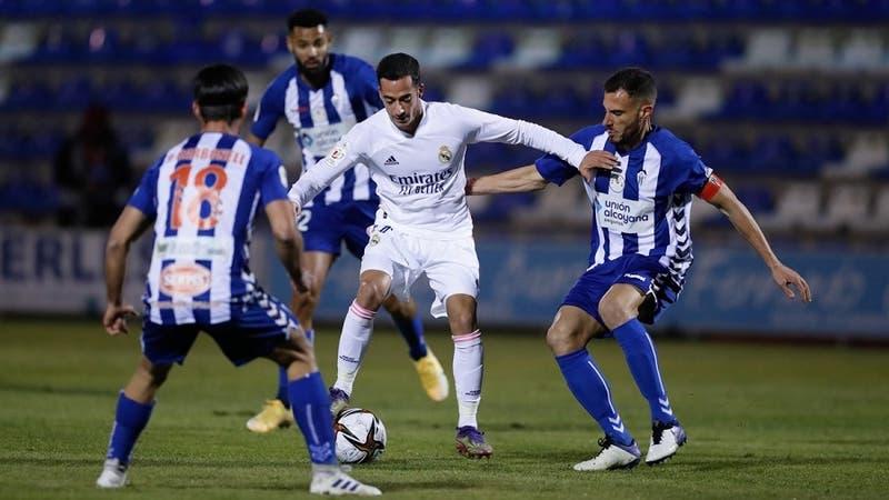 Real Madrid eliminado de la Copa del Rey por el Alcoyano de tercera división
