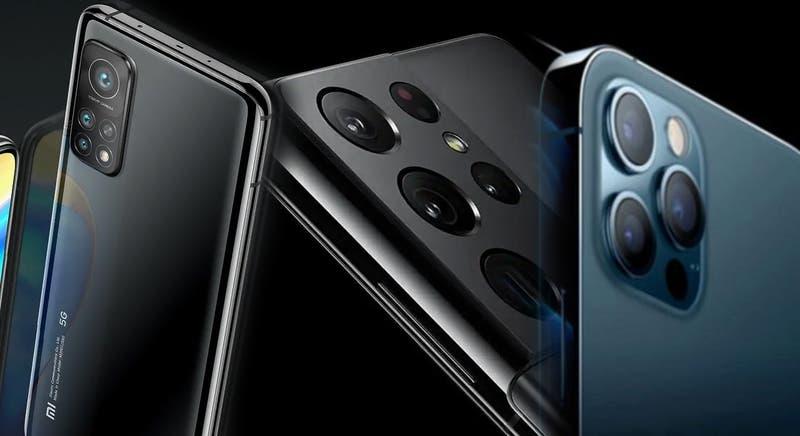 Precios y modelos de los últimos smartphones de Samsung, Apple y Xiaomi en Chile