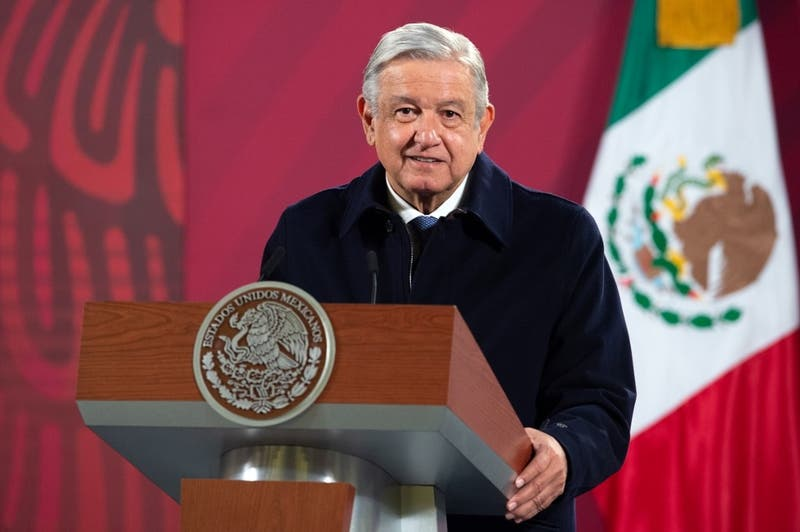 Presidente de México Andrés Manuel López Obrador se contagió de COVID-19
