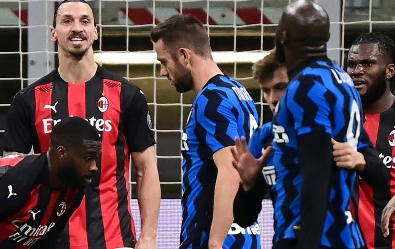 """""""Regresa a tus tonterías vudús"""": Los dichos de Zlatan que provocaron la ira de Lukaku en el derbi"""