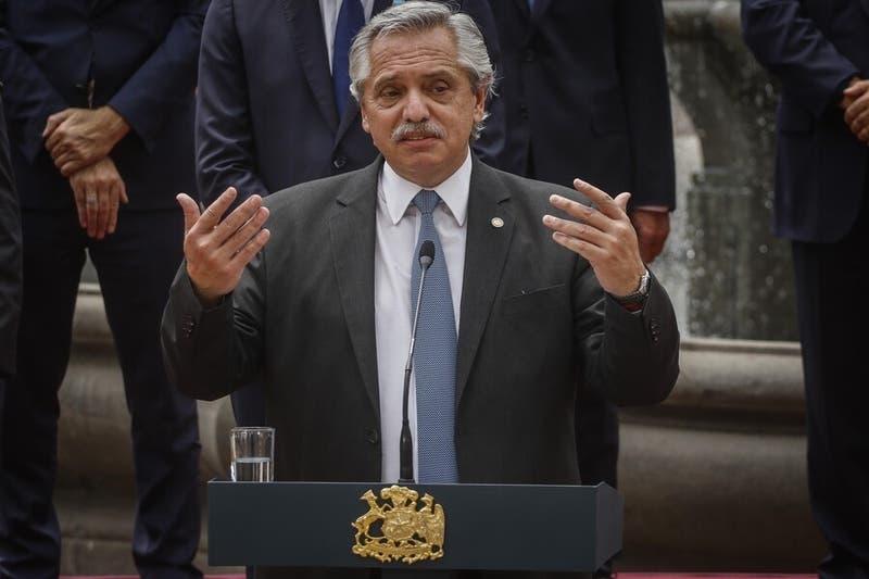 """Alberto Fernández y proceso Constituyente: """"Va a haber otro Chile cuando nazca la Constitución"""""""