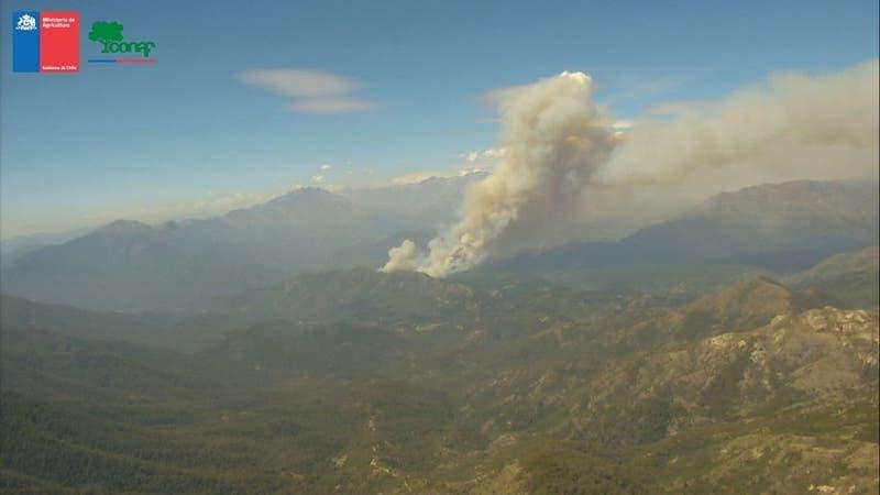 Evacúan Poblado de Sierras de Bellavista en San Fernando por incendio forestal