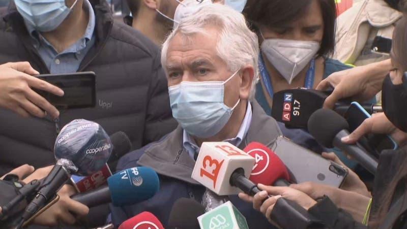 Ministro Paris descarta heridos y fallecidos por incendio en Hospital San Borja