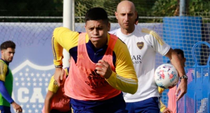 La primera polémica de Marcos Rojos en Boca: se lesionó en el primer entrenamiento