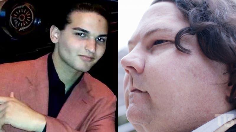 Joe Dime antes y después.