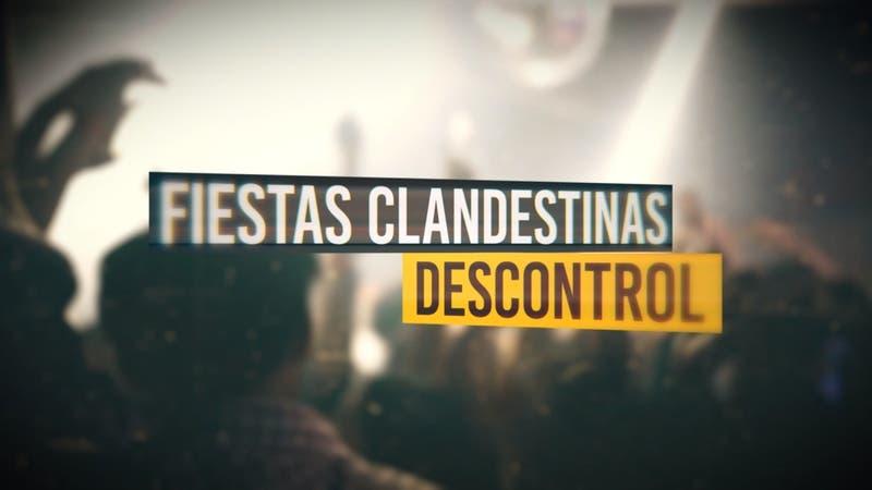Reportajes T13: Recorrido por Santiago en toque de queda con fiestas sin control