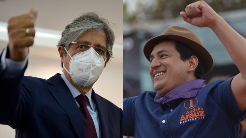 El izquierdista Arauz y el derechista Lasso disputarán balotaje presidencial en Ecuador