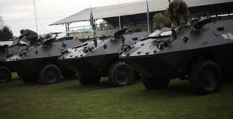 """Galli por ataques incendiarios en el sur: """"Necesitamos vehículos blindados"""""""