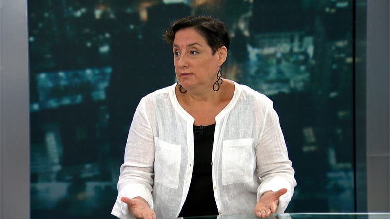 Beatriz Sánchez en T13 Noche