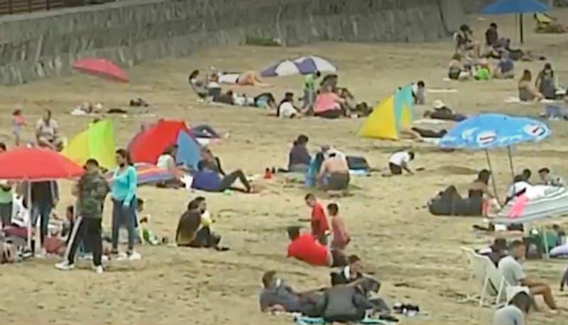 [VIDEO] Concón vuelve a recibir turistas los fines de semana