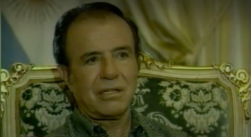 [VIDEO] La historia de Menem: El hombre que marcó a Argentina