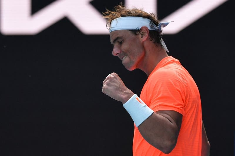 Rafael Nadal derrota al italiano Fognini y pasa a cuartos en el Abierto de Australia
