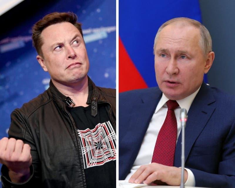 La respuesta del Kremlin a la sorpresiva propuesta de Elon Musk para conversar con Vladimir Putin