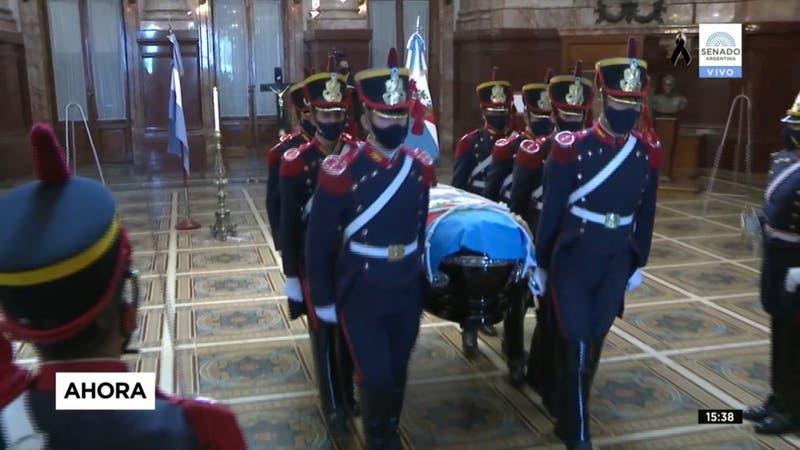 [VIDEO] Así fue el último adiós al ex presidente Carlos Menem