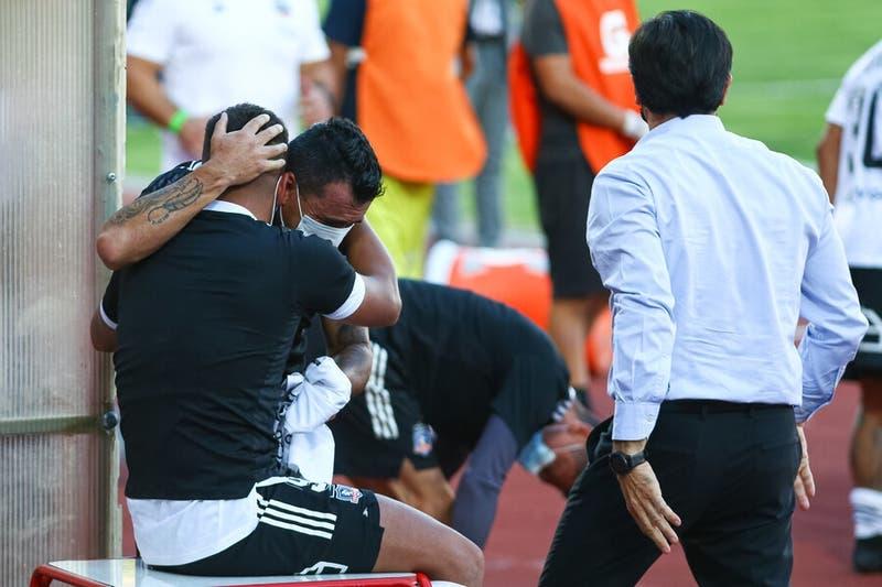 El llanto de Paredes tras el triunfo de Colo-Colo que lo dejó en Primera División