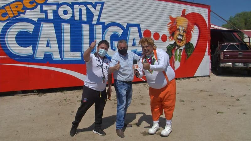 "[VIDEO] Circo ""Tony Caluga"" vuelve a funcionar tras un año parados por la pandemia"