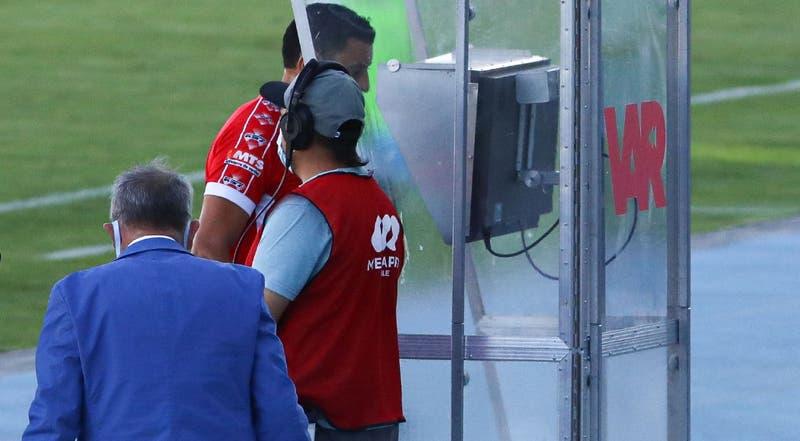 Eficiencia del VAR en el Campeonato Nacional 2020 fue de un 89,5% según balance de la ANFP