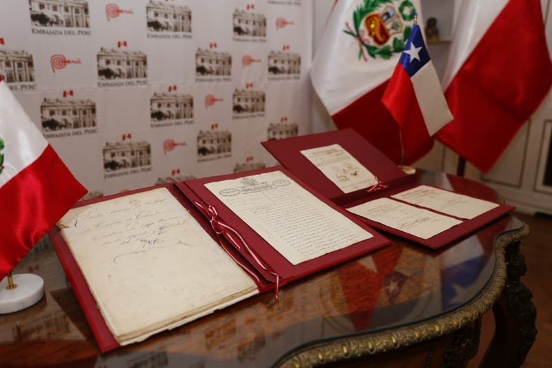 Guerra del Pacífico: Chile devolvió a Perú documentos de 1875
