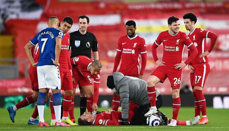 Ahora contra Everton: Liverpool suma su carta derrota consecutiva