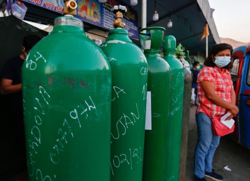 Crisis en Perú por falta de oxígeno